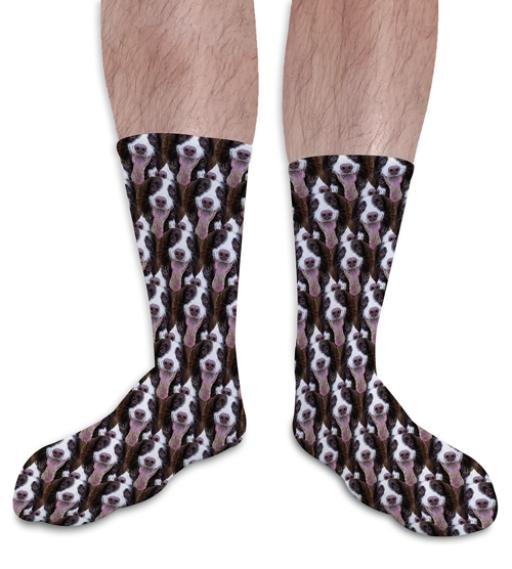 Face Mash Pets Personalised Photo Socks