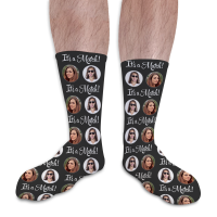 Valentines Day Personalised Socks Its A Match