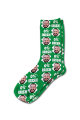 St Patricks Day Personalised Photo Socks 0% Irish