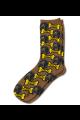 Personalised Pet Photo Socks Dog Brown