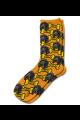 Personalised Pet Photo Socks Dog Orange