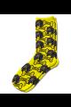 Personalised Pet Photo Socks Dog Yellow