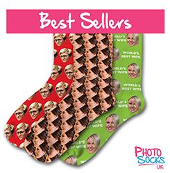 Best Selling Personalised Socks