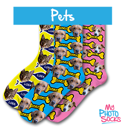 Personalised Socks With Your Pets Faces